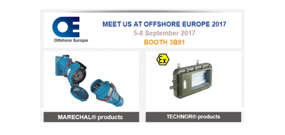 OFFSHORE EUROPE 2017 - Booth 3B81
