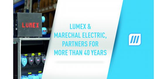 LUMEX & MARECHAL ELECTRIC, partners for more than 40 years