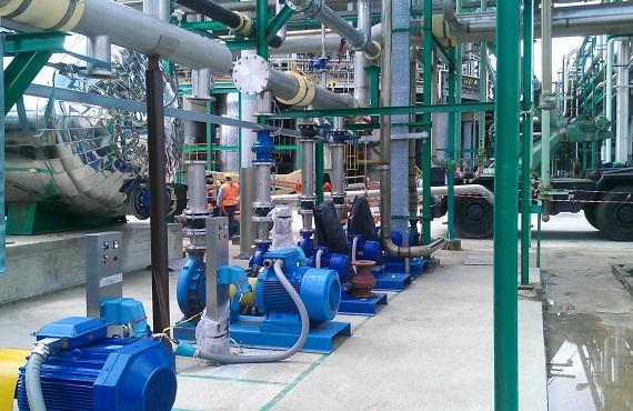 Anschluss von Pumpenmotoren durch MARECHAL Steckvorrichtung
