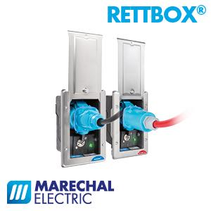 Strom- und Druckluftversorgung für Rettungsfahrzeuge RETTBOX