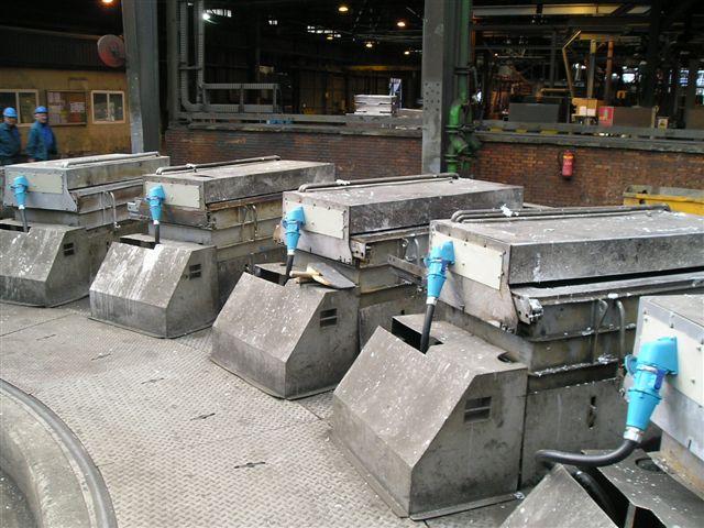 Prises électriques sécurisées Metallurgy Espagne Asturiana de Zinc