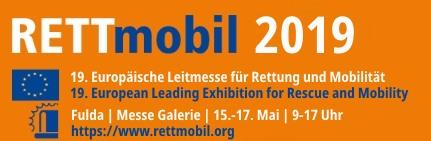 Logo RETTmobil Messe 2019